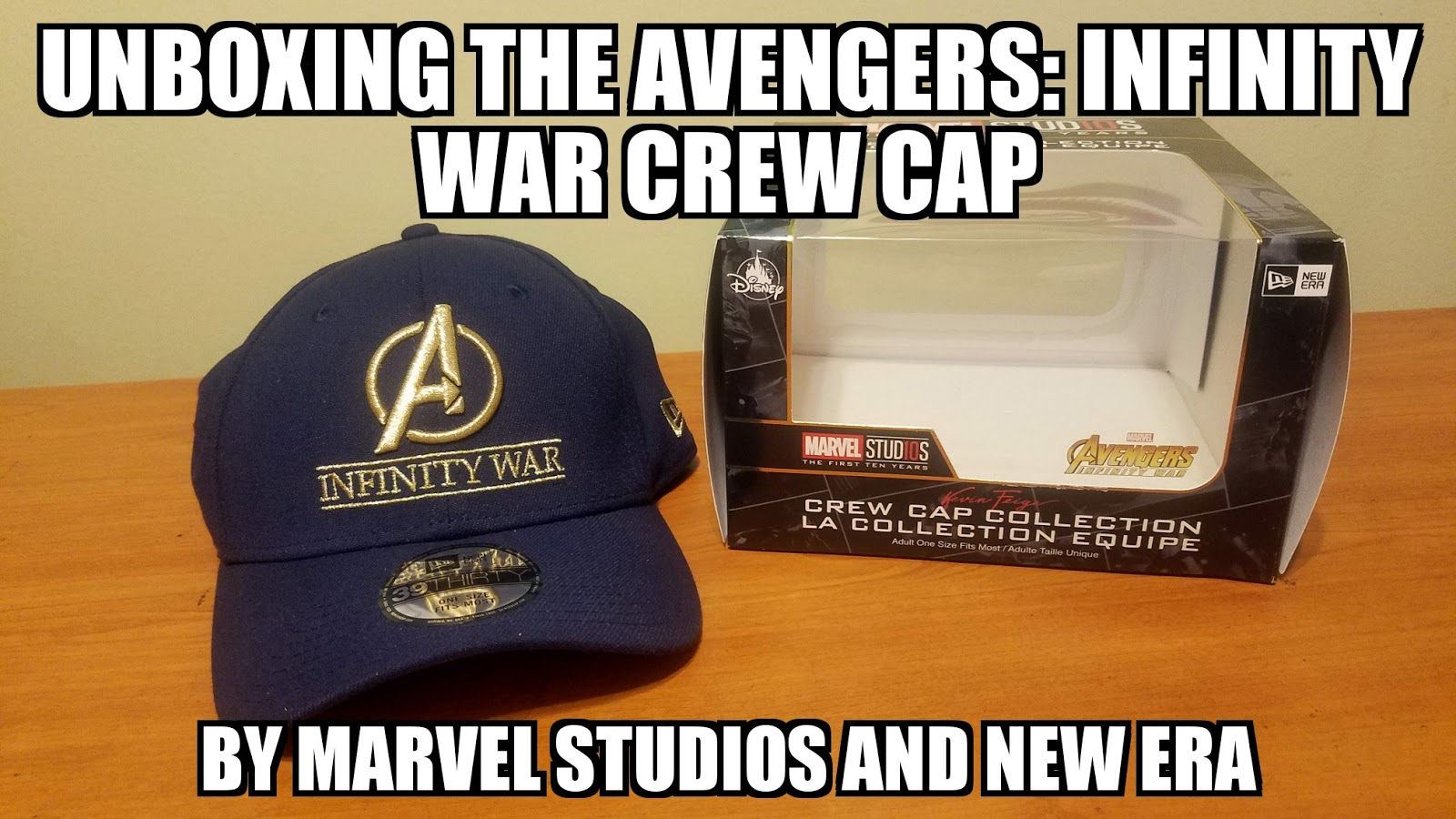 7e509cb55a2 Sasaki Time  Unboxing the Marvel Avengers  Infinity War Crew Cap by ...