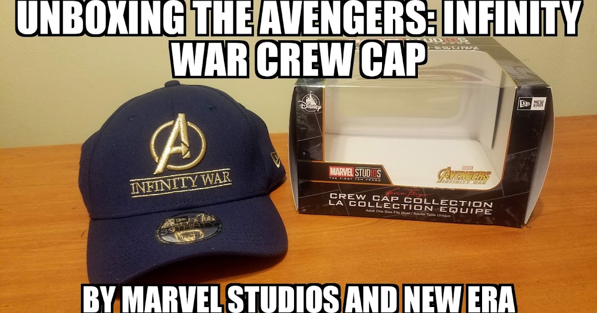 cc45659ddf5 ... low price sasaki time unboxing the marvel avengers infinity war crew cap  by new era 7aaf5