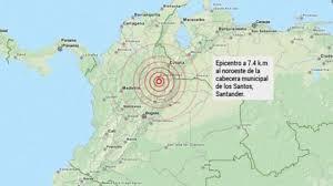 terremoto bogota