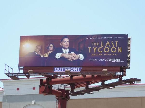 Last Tycoon series billboard