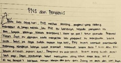 Contoh Teks Anekdot Lucu Singkat
