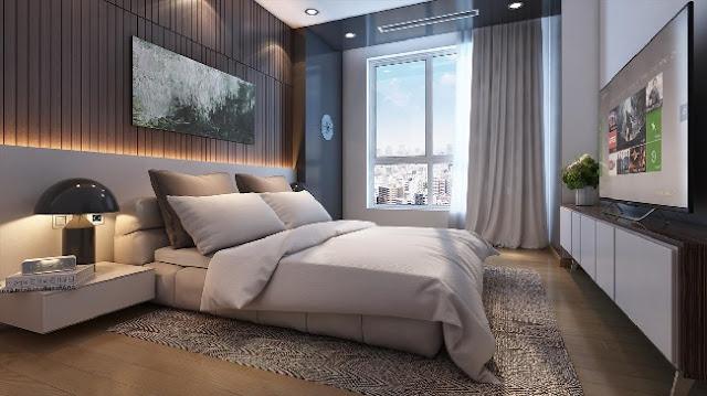 Căn hộ 2 phòng ngủ Vinhomes Phạm Hùng