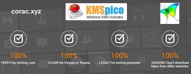 KMSpico kích hoạt bản quyền windows