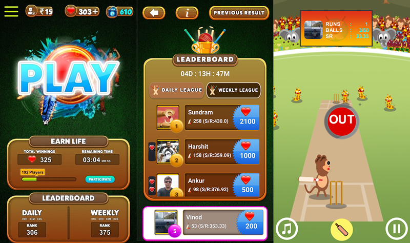 Play Dream Cricket Game on Android Phone and Win Paytm Cash