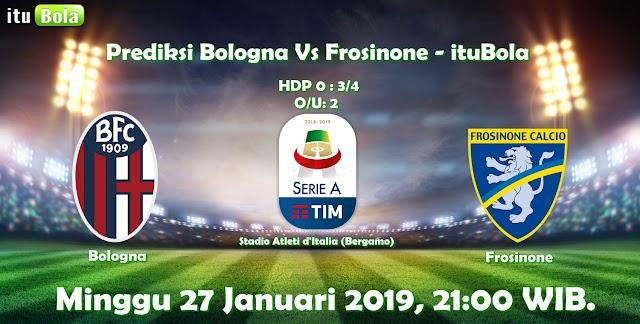 Prediksi Bologna Vs Frosinone - ituBola