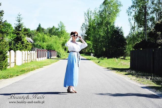 Zaful - cudowna sukienka ombre :)