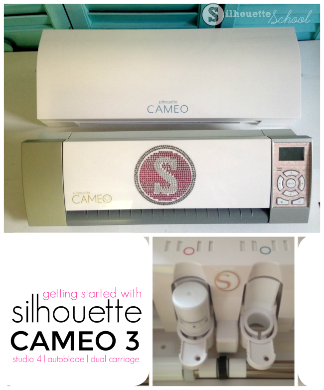 Silhouette CAMEO 3 getting started beginners auto blade studio 4