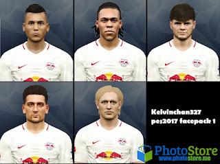 Kelvinchan327 PES 2017 Face Pack V1