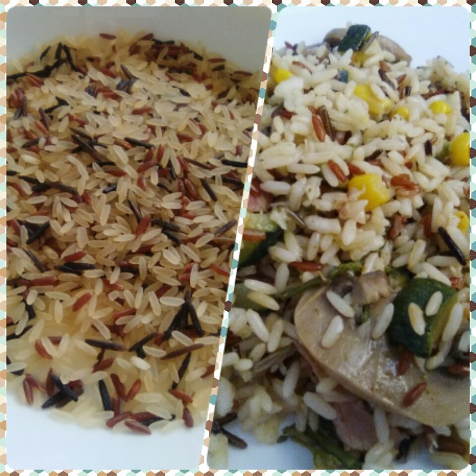 Cocina con denise salteado de arroz salvaje - Salteado de arroz ...