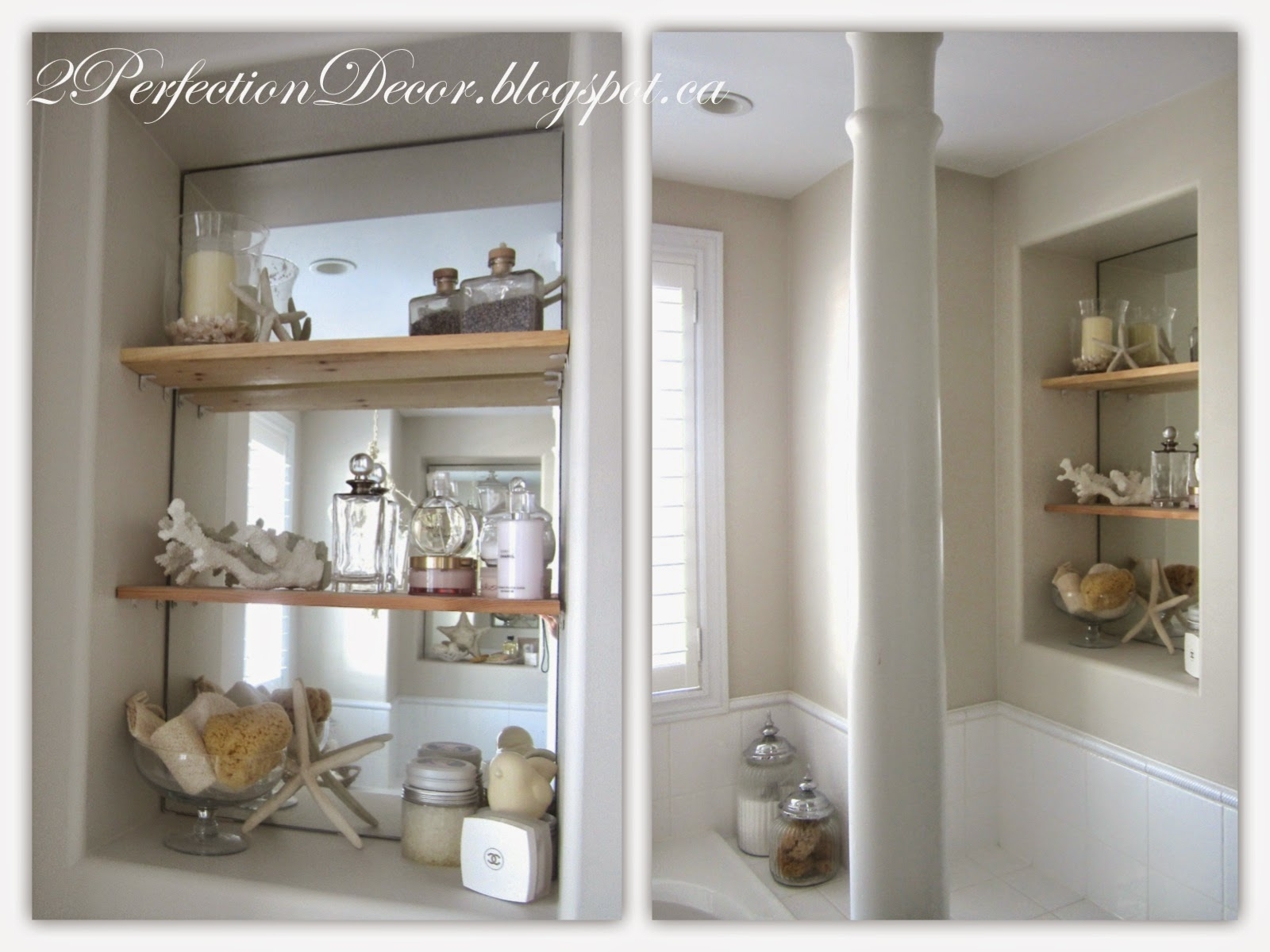 2Perfection Decor: Our Master Ensuite Bathroom Reveal