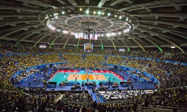 Maracanâzinho, palco do vólei, Olimpíadas Rio 2016