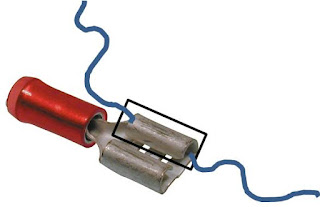 """"""" Conectar cables con parte de un terminal"""""""