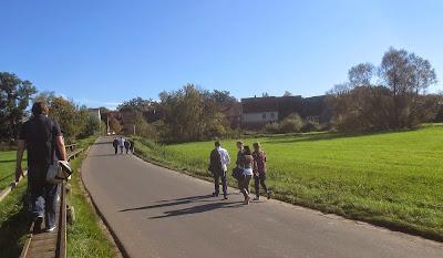 Spaziergang im Aischgrund - Franken Foodcamp