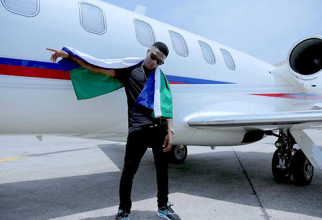 """""""When I met her, I said 'good evening ma'"""" – Wizkid , See the new sexy Wizkid is crushing on"""