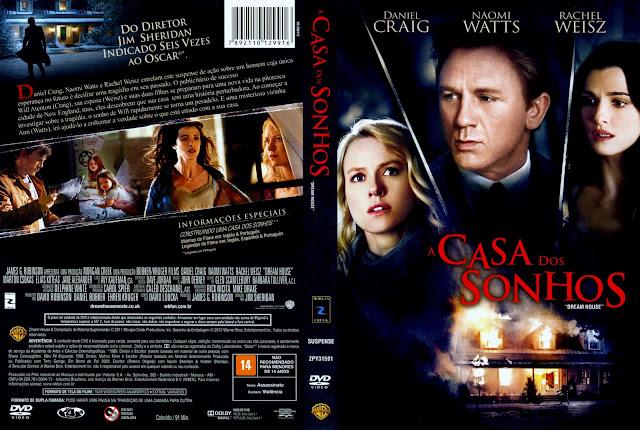 Capa DVD A Casa dos Sonhos