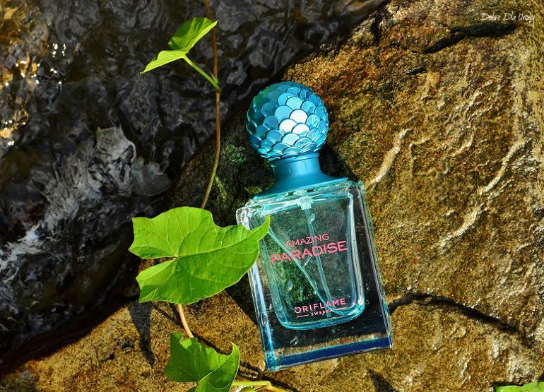 Woda perfumowana Amazing Paradise Oriflame dla Niej  recenzja