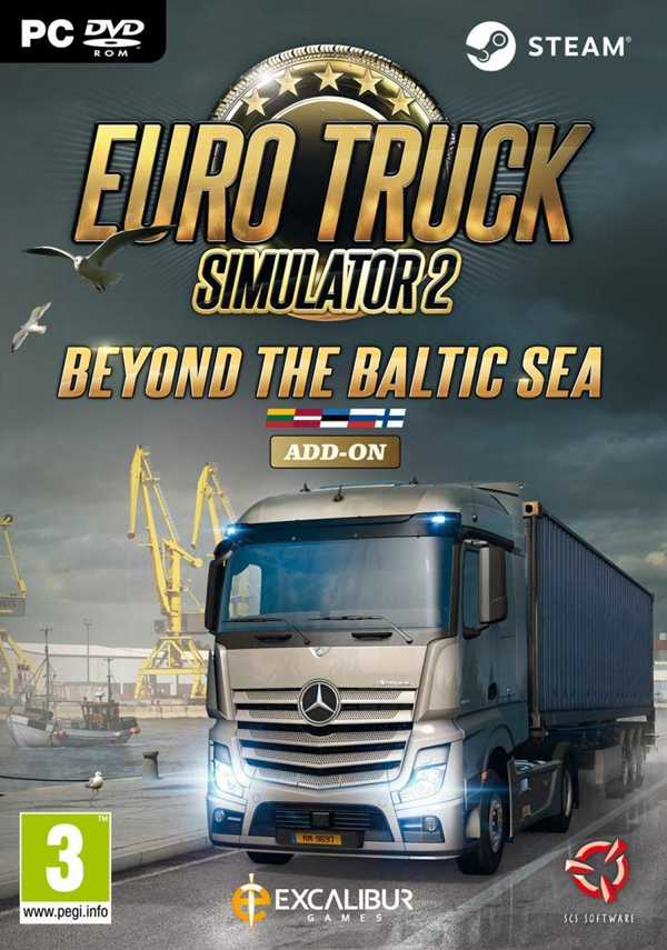 Euro Truck Simulator 2: Beyond The Baltic Sea Cover PC