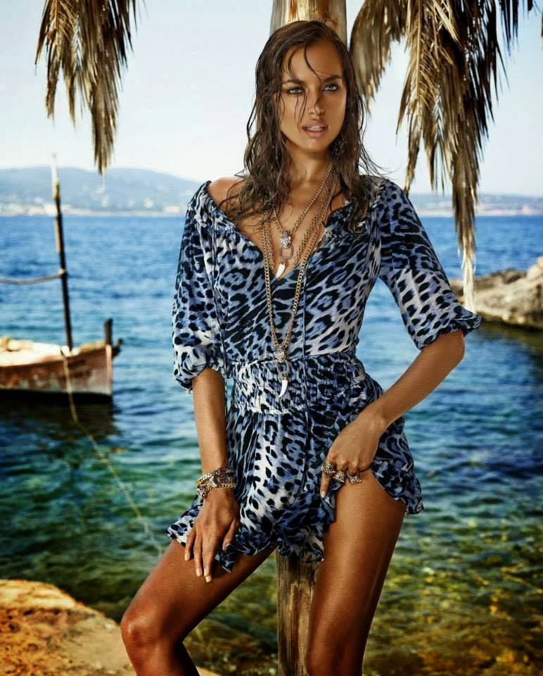 dfdb3728cd3f3 Irina Shayk for Roberto Cavalli Capsule Collection for C A Brazil ...