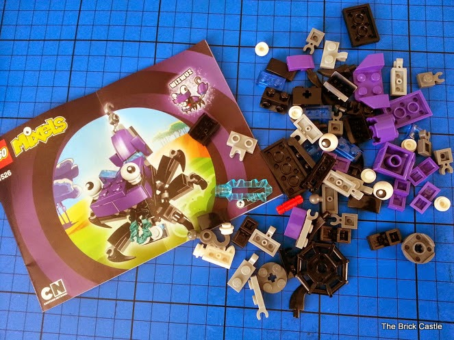 LEGO Mixels Series 3 review - Wizwuz 41526 set pack contents