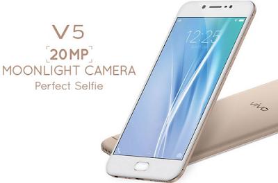 spesifik: Vivo V5 & V5 Ditambah spesifikasi layar 20MP kamera depan dengan Moonlight flash