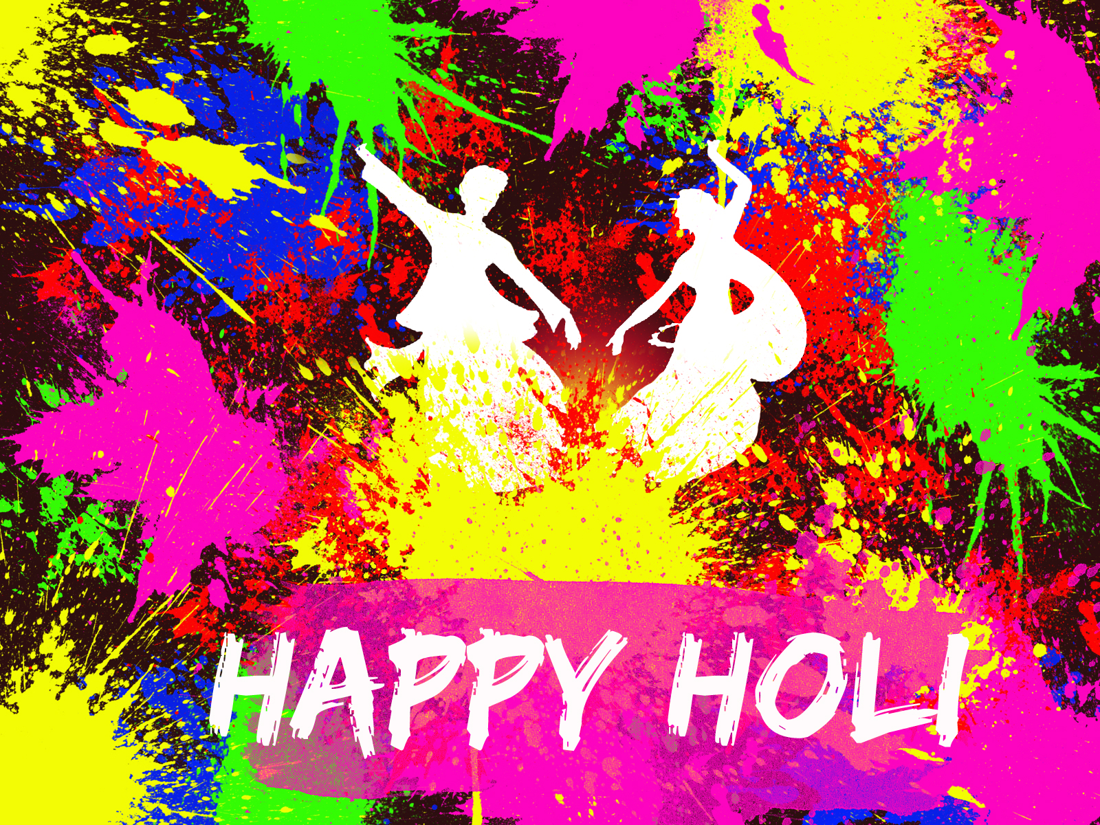 Webgerent wishes the holi (the festival of colors) 2016.
