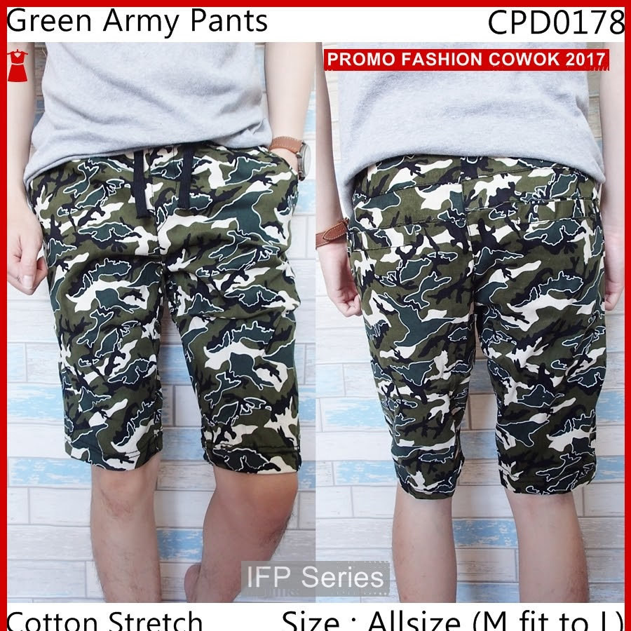 BIMFGP059 Army Celana Pria Fashion Pria PROMO