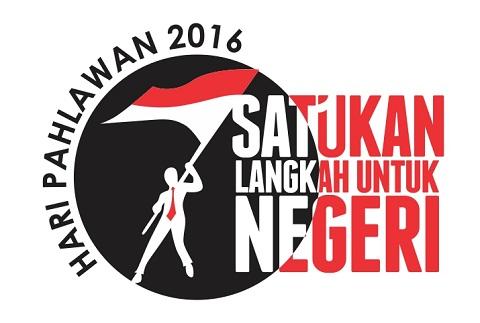 Logo dan Tema / Slogan Hari Pahlawan 2016
