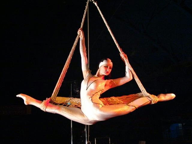Show circense no Circus Circus em Las Vegas