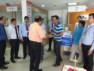 ICICI Bank organises coin exchange mela at Bairagarh, Bhopal
