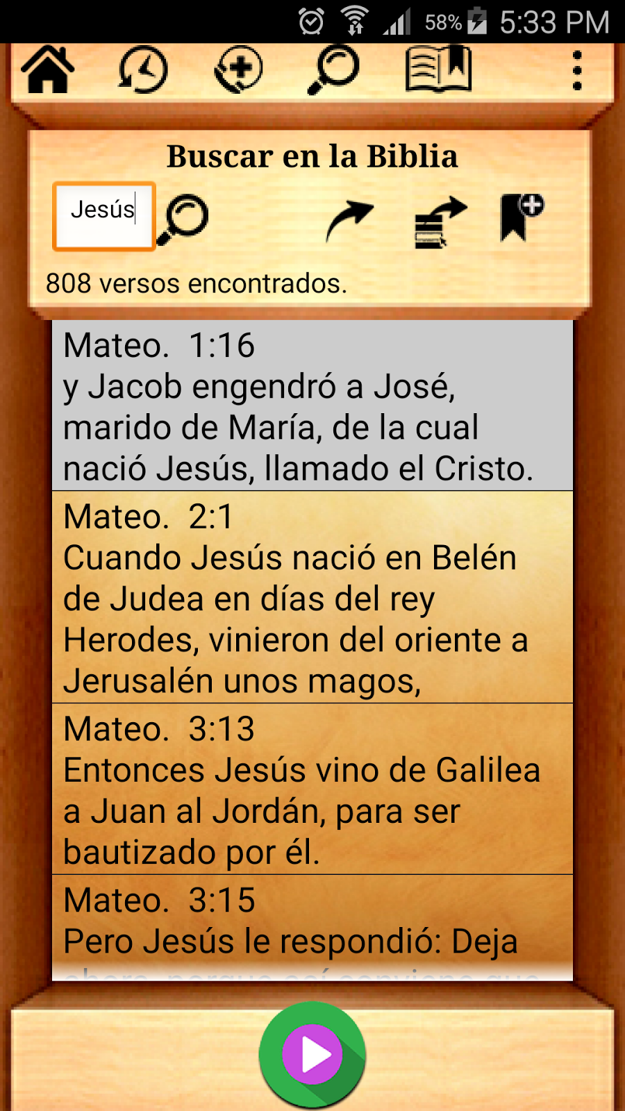 Internet citas biblia
