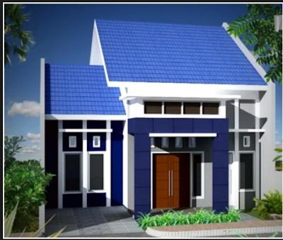 Inspirasi Rumah Nuansa Biru Terbaru 2