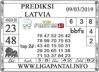"""Prediksi Togel """"LATVIA"""" PANTAI4D 09 MARET 2019"""