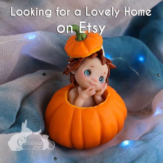 Pumpkin Fairy on Etsy