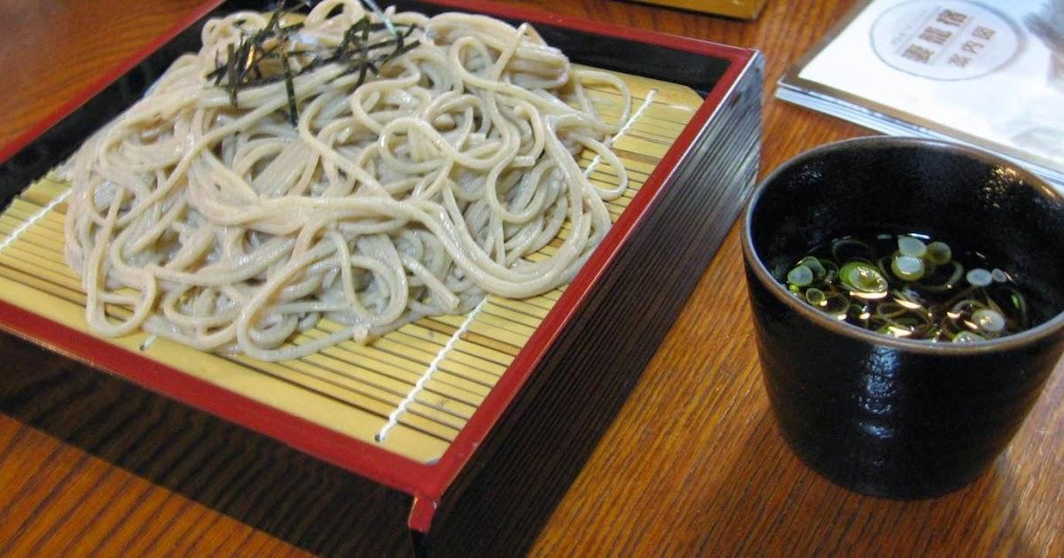 Soba Frio Zaru Soba  No solo de Sushi vive el japons