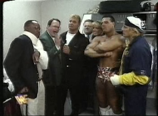 WWF / WWE - IN YOUR HOUSE 8 - BEWARE OF DOG - Jim Cornette got Owen Hart a manager's license for the Bulldog vs. HBK match
