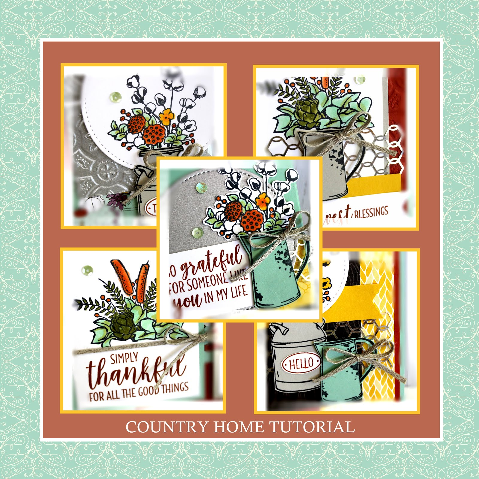 October 2018 Country Home Tutorial