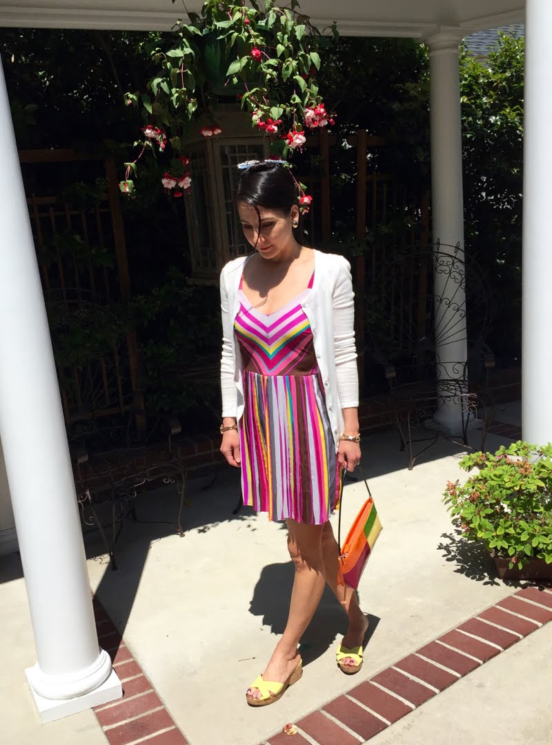 Rainbow Stripes Outfit