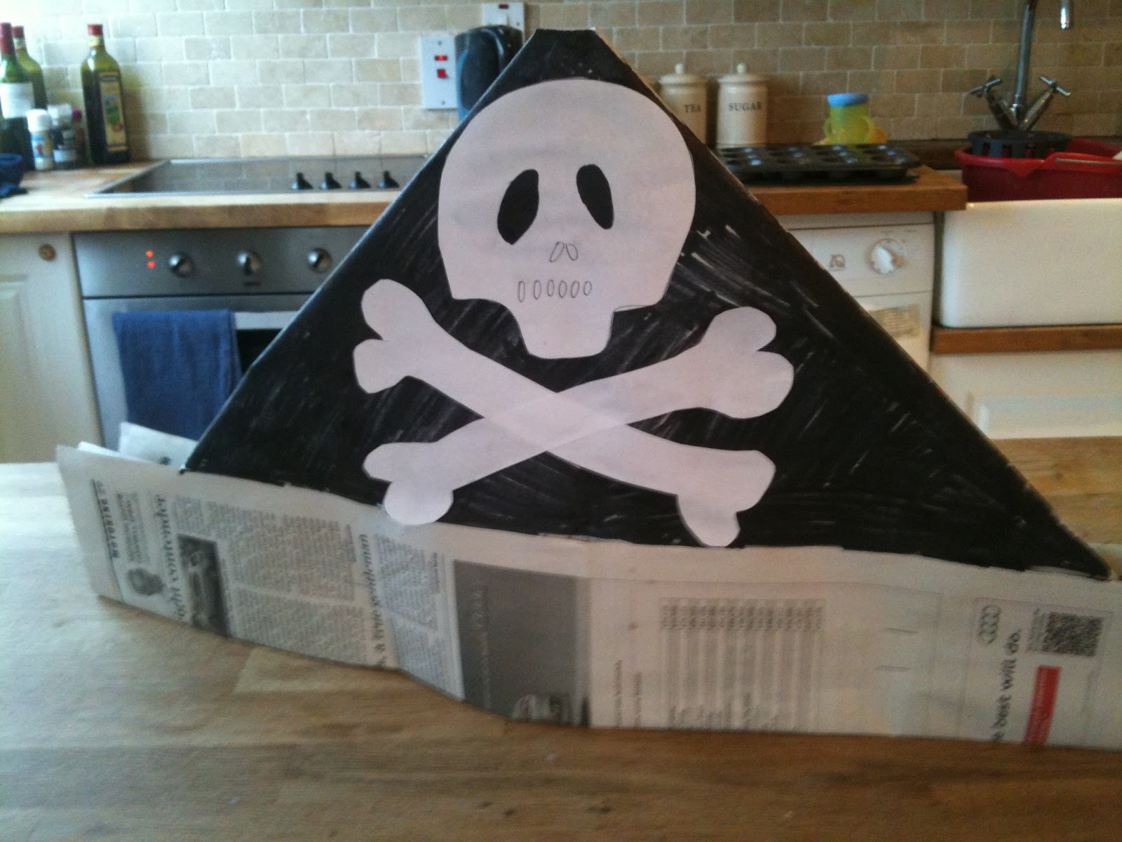 Images of Homemade Pirate Hat - #rock-cafe