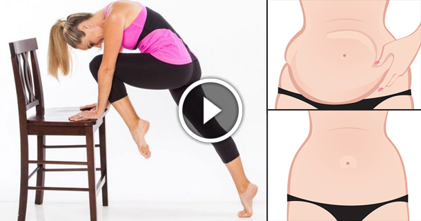 10 Home Chair Exercises That Will Reduce Your Belly Fat Quickly