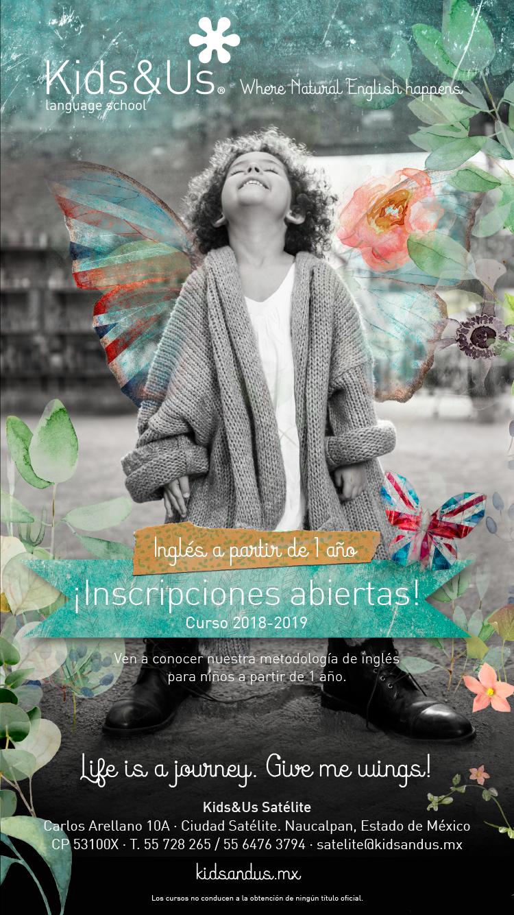 Inglés desde el primer año de edad - Kids & Us Satélite