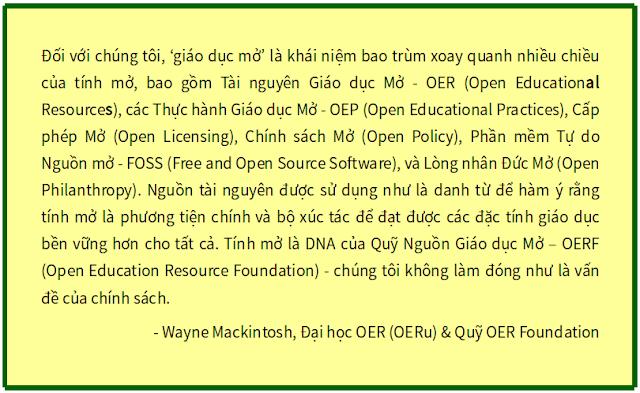 Phát triển Khóa học Mở ở OERu