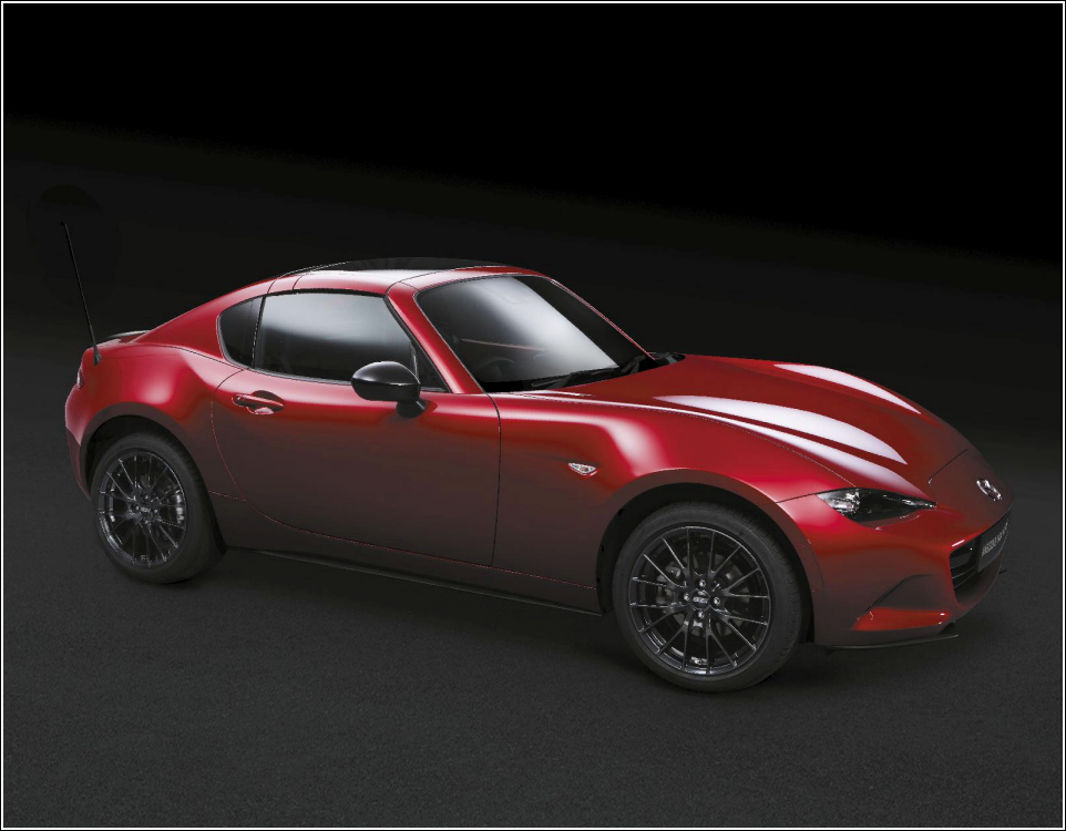 Mazda Mx 5 Rf Launch Edition Soul Red Bbs