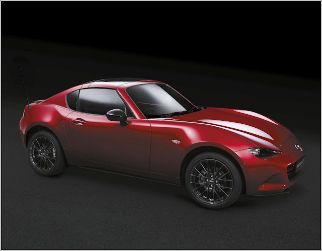 Mazda MX-5 RF Launch Edition Soul Red BBS