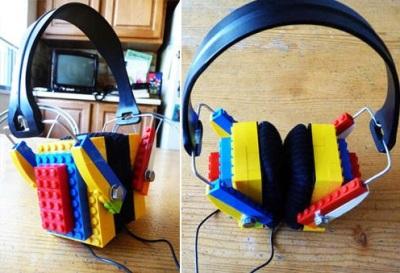 7. LEGO Headphone
