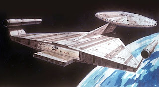 USS Enterprise by Ralph McQuarrie