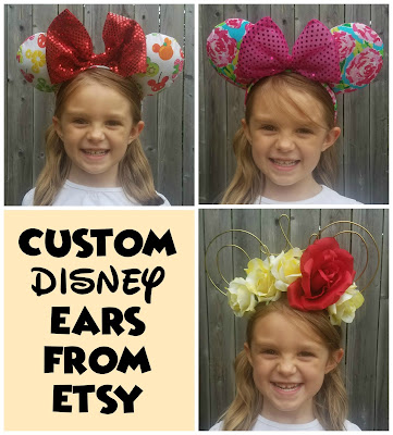Disney Ears, Mickey Ears, Etsy