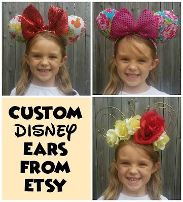 Disney Ears, Mickey Ears, Etsy