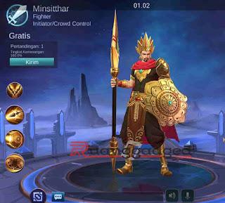 Hero Baru Mobile Legends Minsitthar, Build, Skill dan Tanggal Rilis!