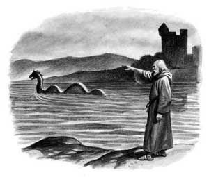 loch ness monster, loch ness, mysterious creatures, urquhart, castles, scotland, saints