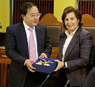 Η επίσκεψη εντάσσεται στο πρόγραμμα διεθνών συνεργασιών που έχει αναπτύξει  το Γεωπάρκο Λέσβου d53e9d8be2e